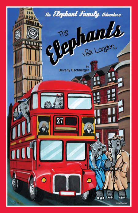 Elephants Visit London